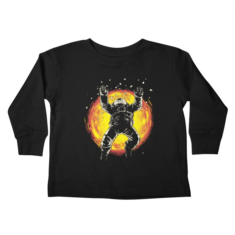 Lost in the Space Kids Toddler Longsleeve T-Shirt by digitalcarbine
