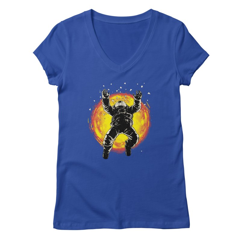 Lost in the Space Women's V-Neck by digitalcarbine