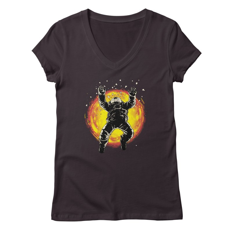 Lost in the Space Women's V-Neck by digital carbine