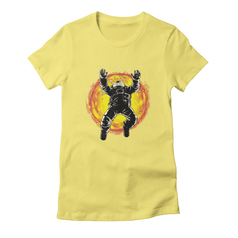 Lost in the Space Women's Fitted T-Shirt by digitalcarbine