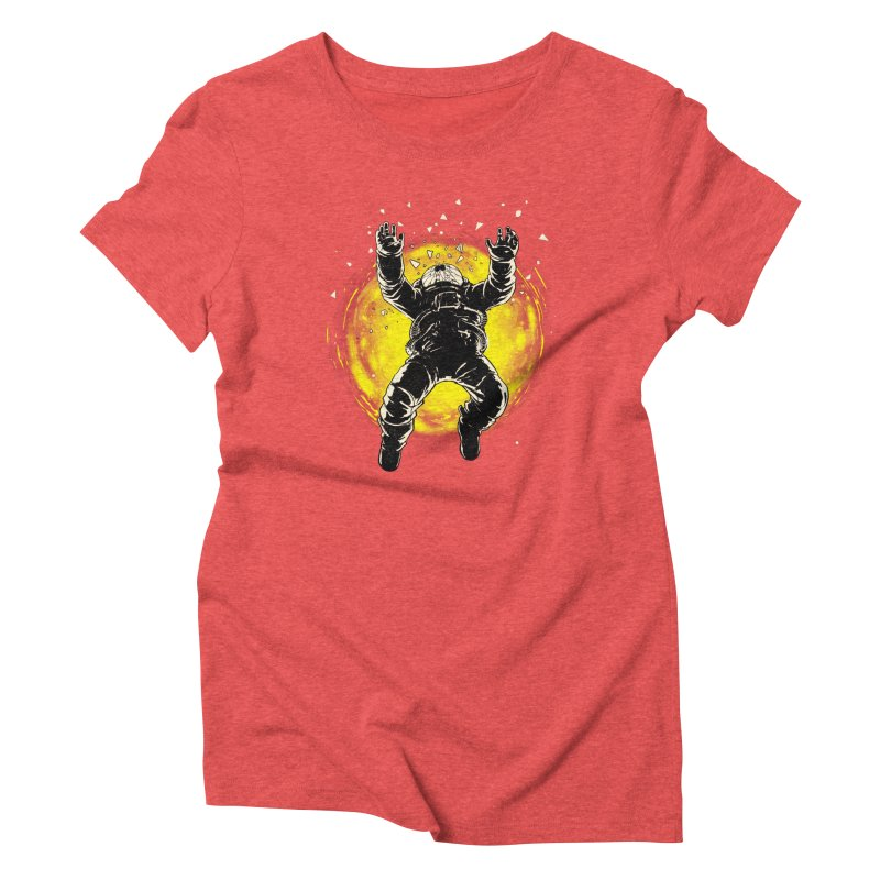 Lost in the Space Women's Triblend T-Shirt by digital carbine