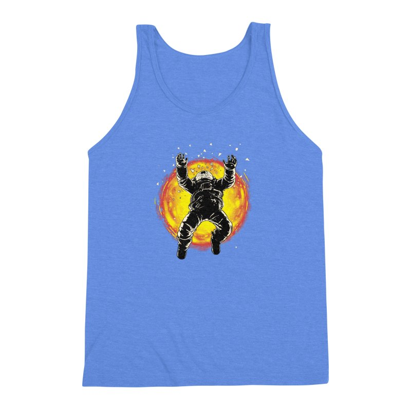 Lost in the Space Men's Triblend Tank by digitalcarbine