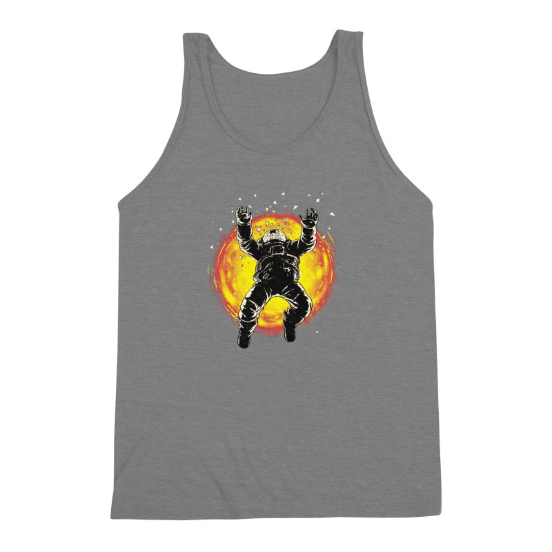 Lost in the Space Men's Triblend Tank by digital carbine