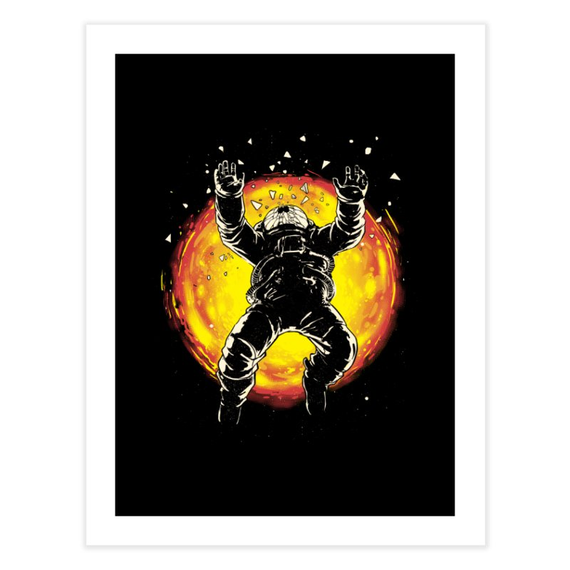 Lost in the Space Home Fine Art Print by digital carbine
