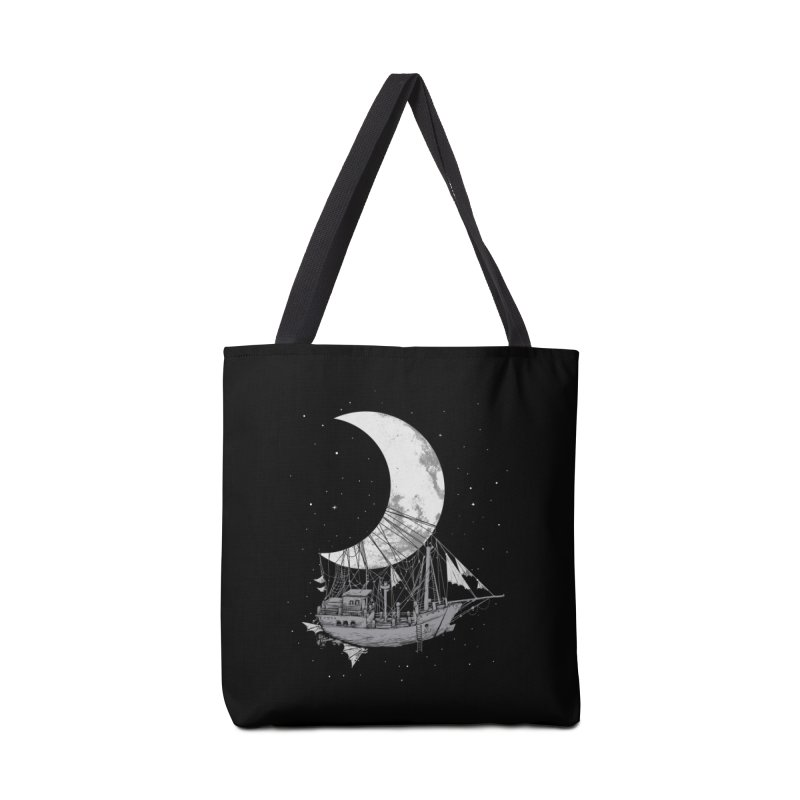Moon Ship Accessories Tote Bag Bag by digital carbine