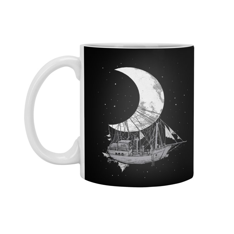 Moon Ship Accessories Standard Mug by digital carbine
