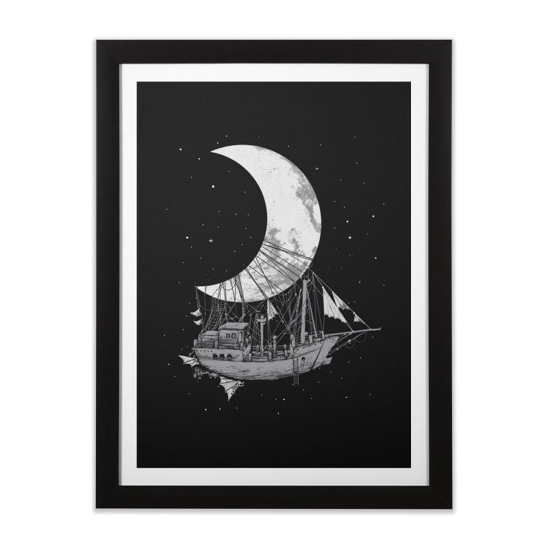 Moon Ship   by digitalcarbine