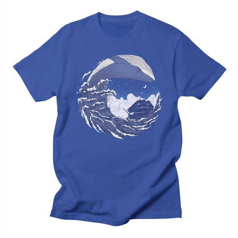 The Great Whale Men's T-shirt by digitalcarbine