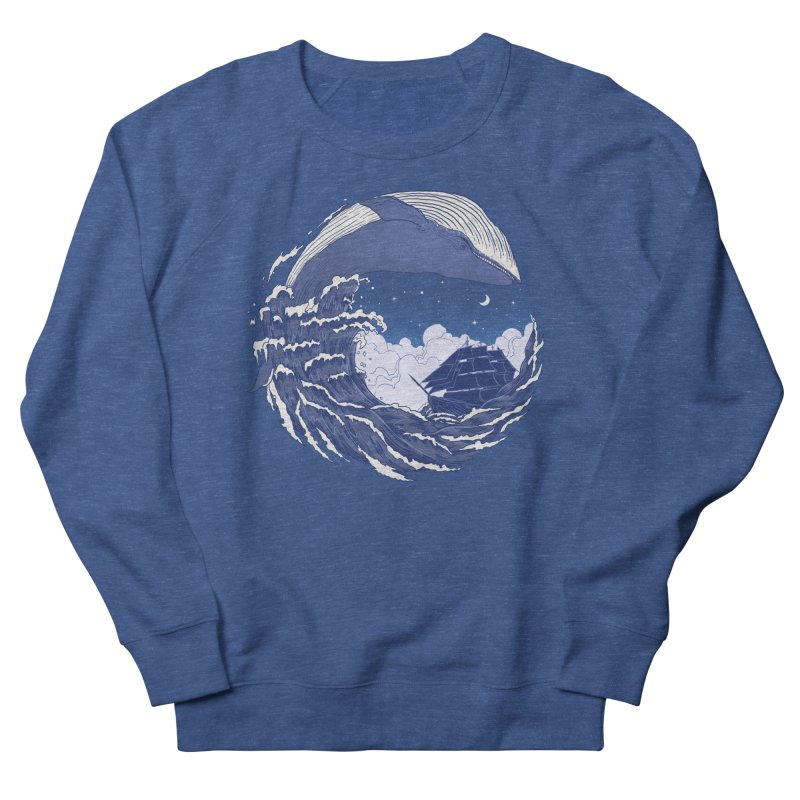 The Great Whale Men's Sweatshirt by digitalcarbine
