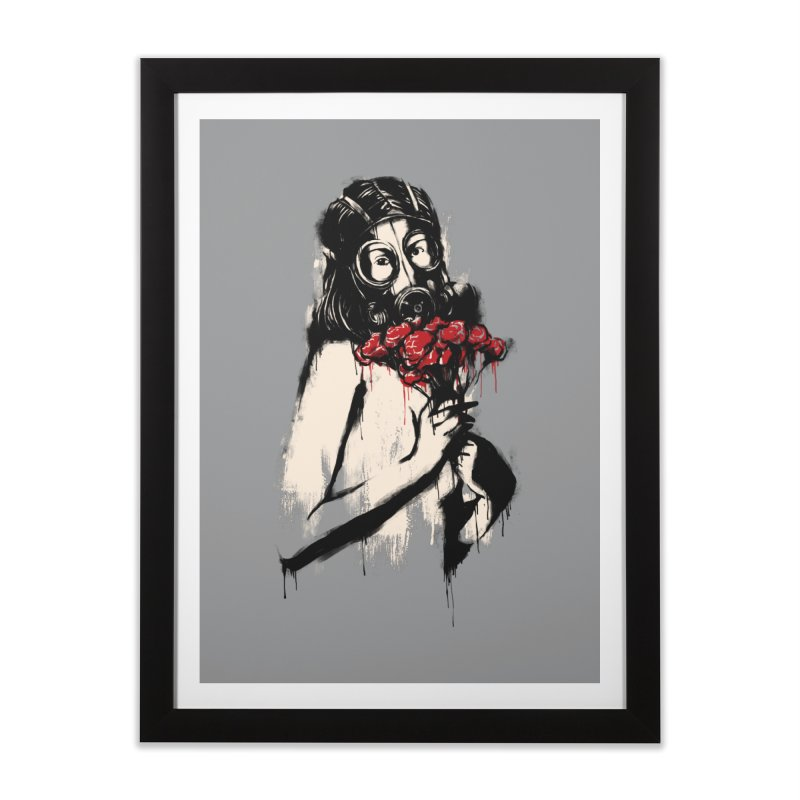 The Last Flower Home Framed Fine Art Print by digitalcarbine