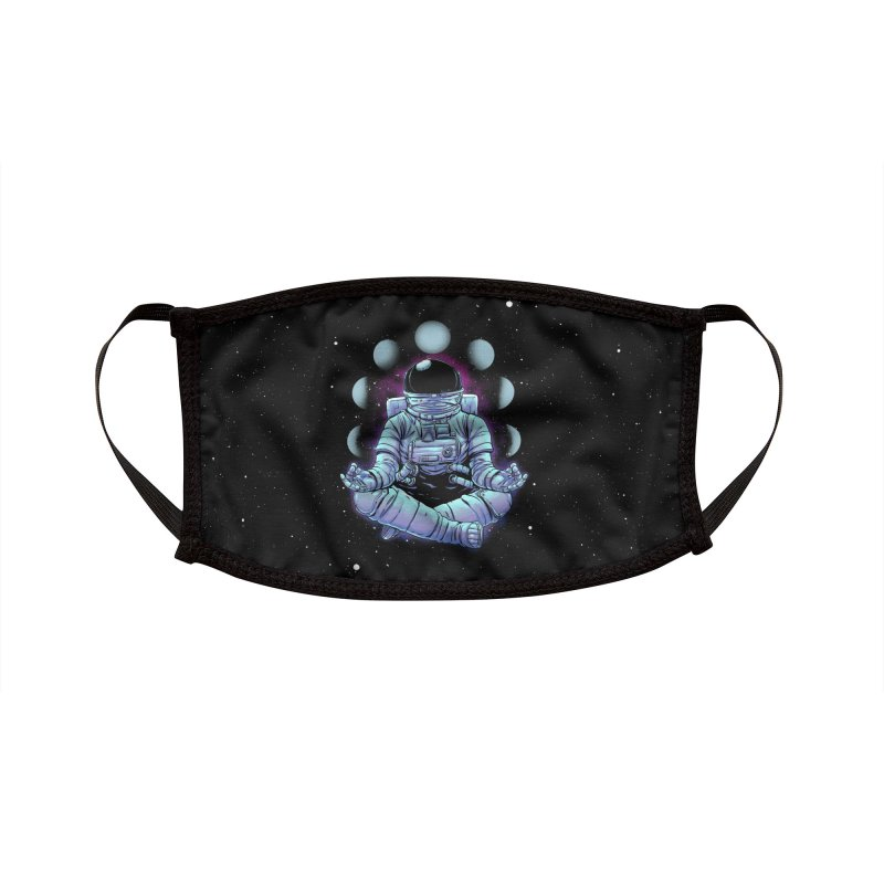 Meditation Accessories Face Mask by digital carbine