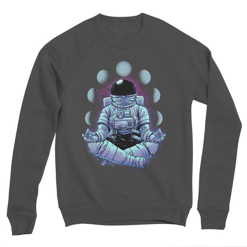 Meditation Women's Sponge Fleece Sweatshirt by digital carbine