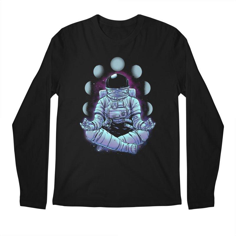 Meditation Men's Longsleeve T-Shirt by digital carbine