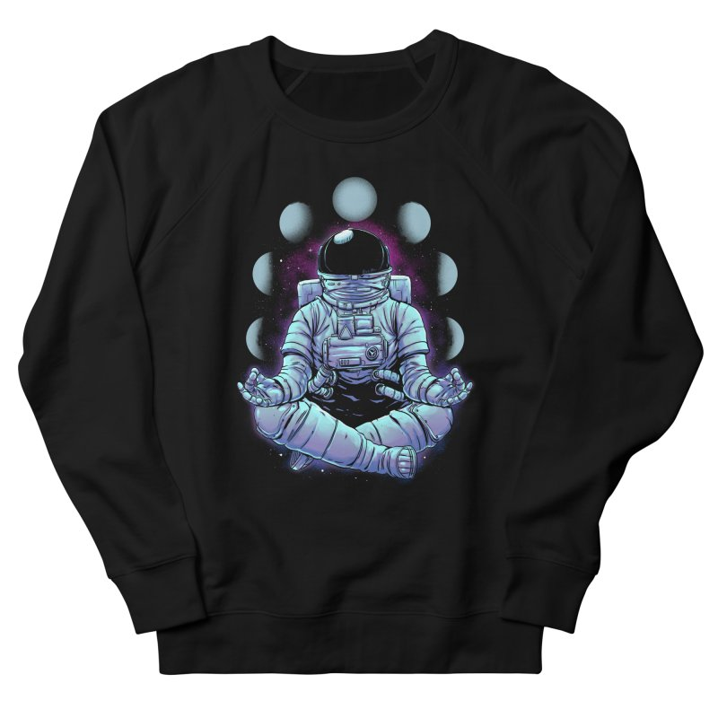 Meditation Men's French Terry Sweatshirt by digital carbine