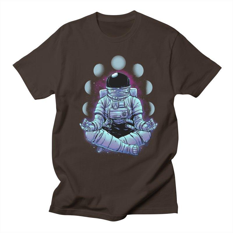 Meditation Men's T-Shirt by digital carbine