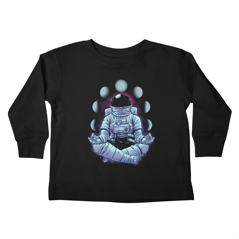 Meditation Kids Toddler Longsleeve T-Shirt by digital carbine