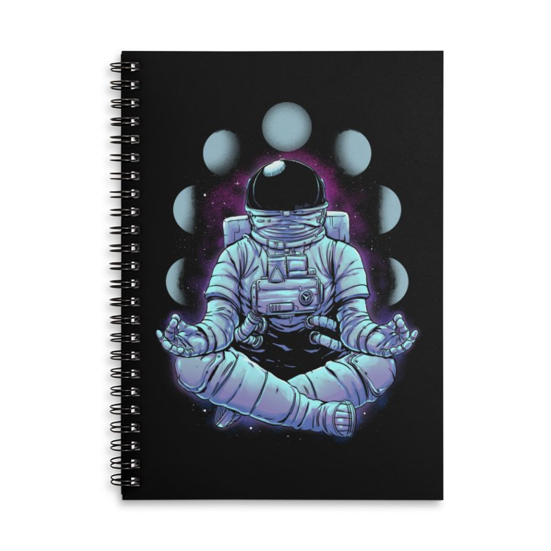 Meditation Accessories Notebook by digital carbine