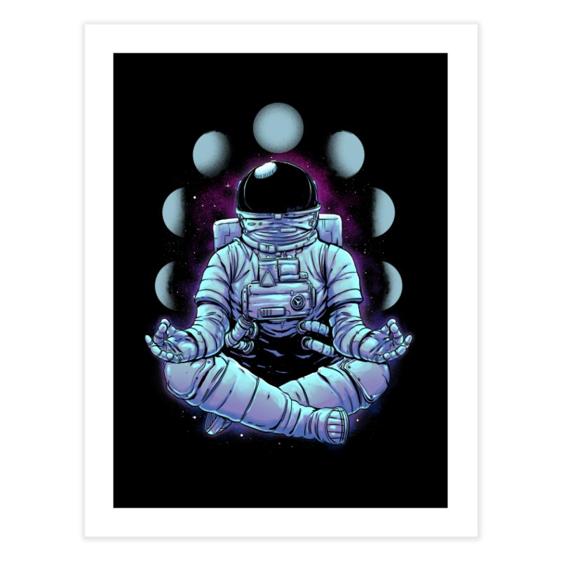 Meditation Home Fine Art Print by digital carbine