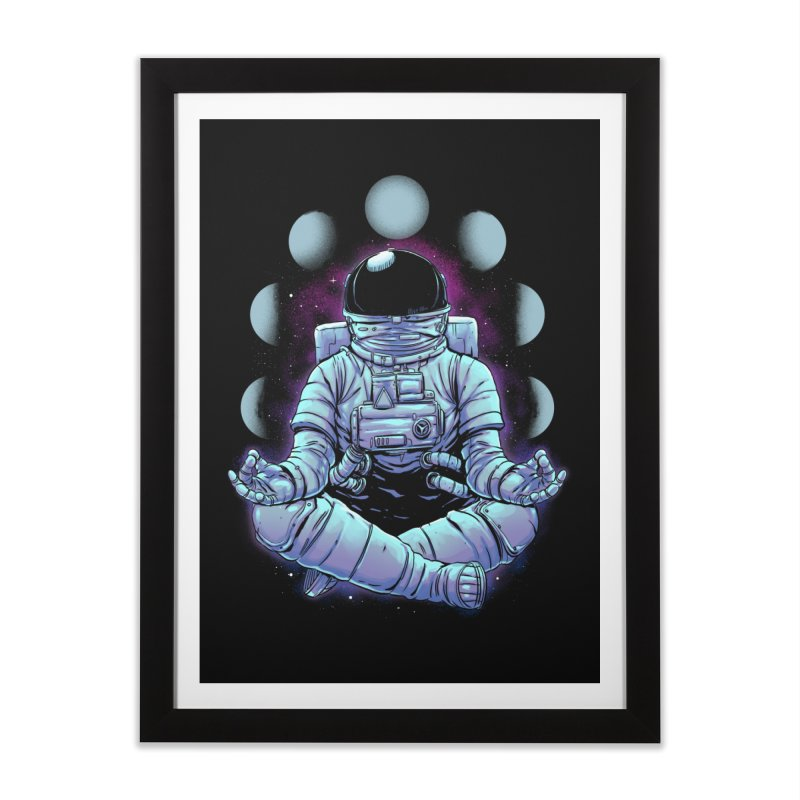Meditation Home Framed Fine Art Print by digital carbine