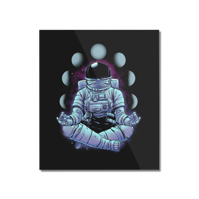Meditation Home Mounted Acrylic Print by digital carbine