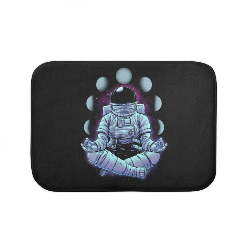 Meditation Home Bath Mat by digital carbine