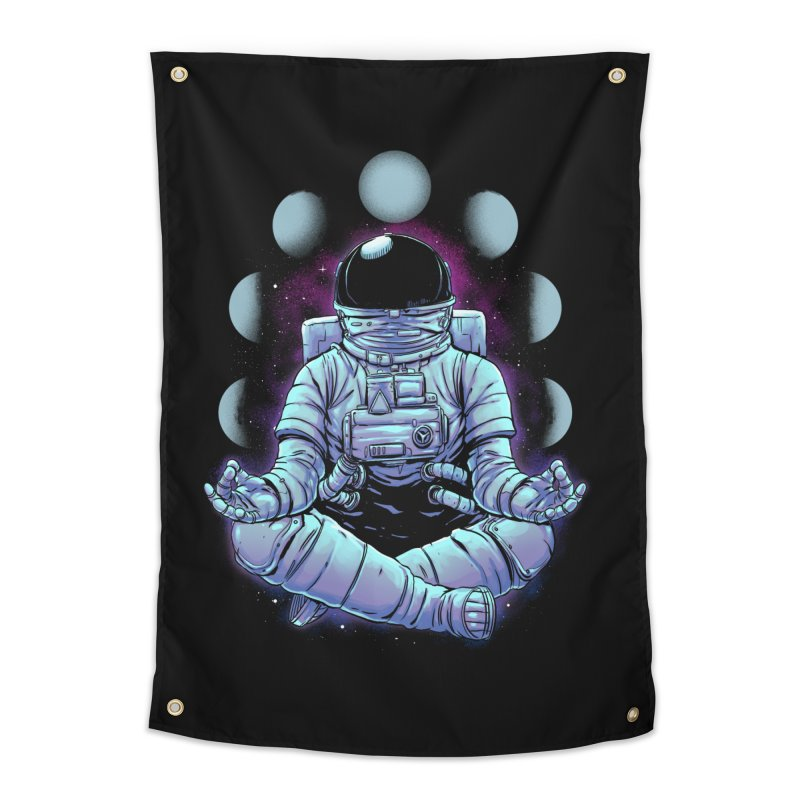 Meditation Home Tapestry by digital carbine