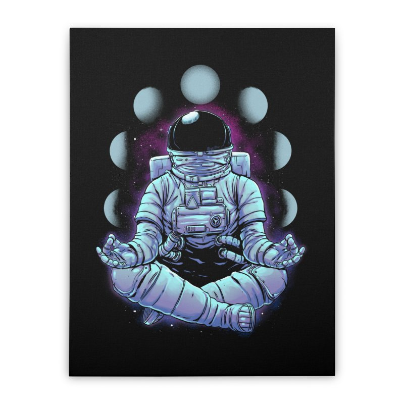 Meditation Home Stretched Canvas by digital carbine