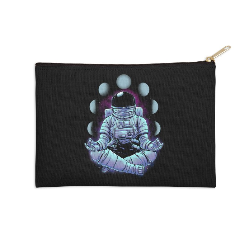 Meditation Accessories Zip Pouch by digital carbine