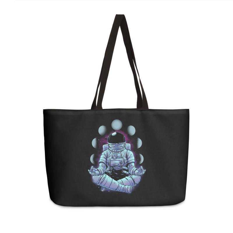 Meditation Accessories Weekender Bag Bag by digital carbine