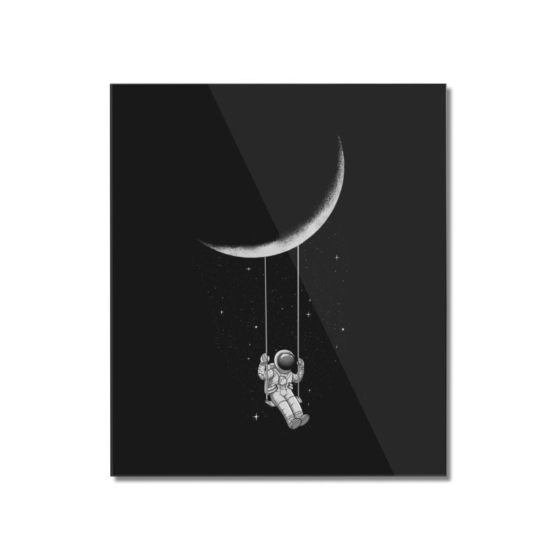 Moon Swing Home Mounted Acrylic Print by digital carbine