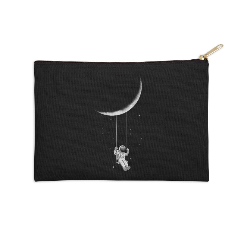 Moon Swing Accessories Zip Pouch by digital carbine