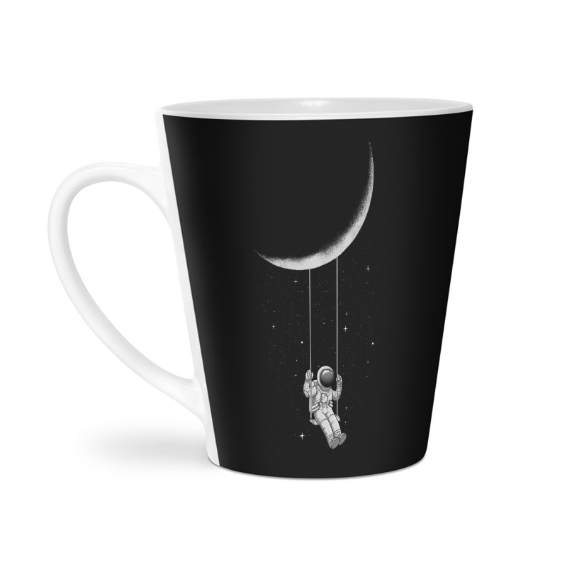 Moon Swing Accessories Latte Mug by digital carbine