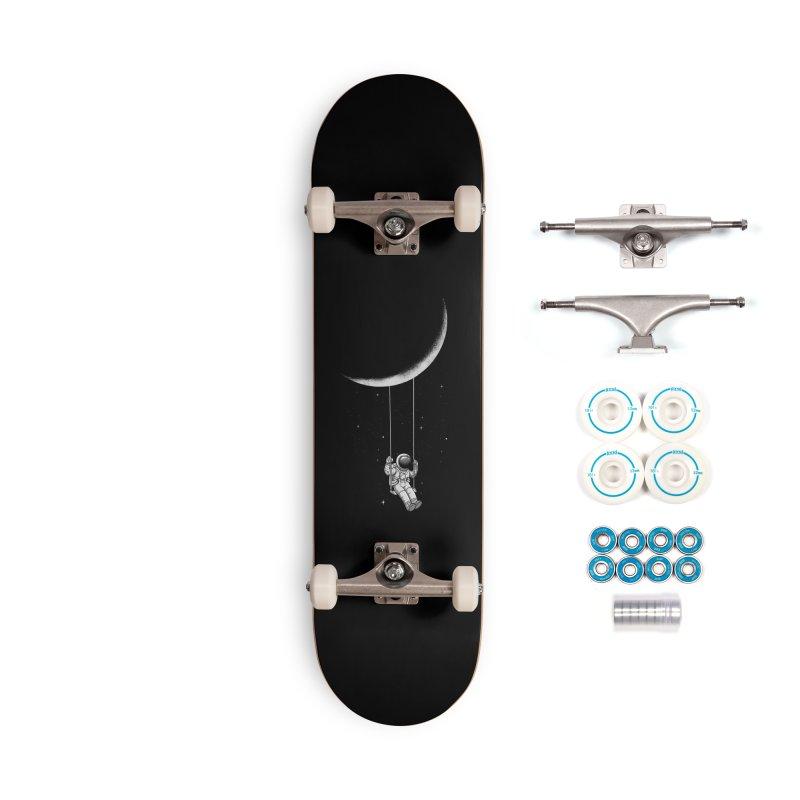 Moon Swing Accessories Skateboard by digital carbine
