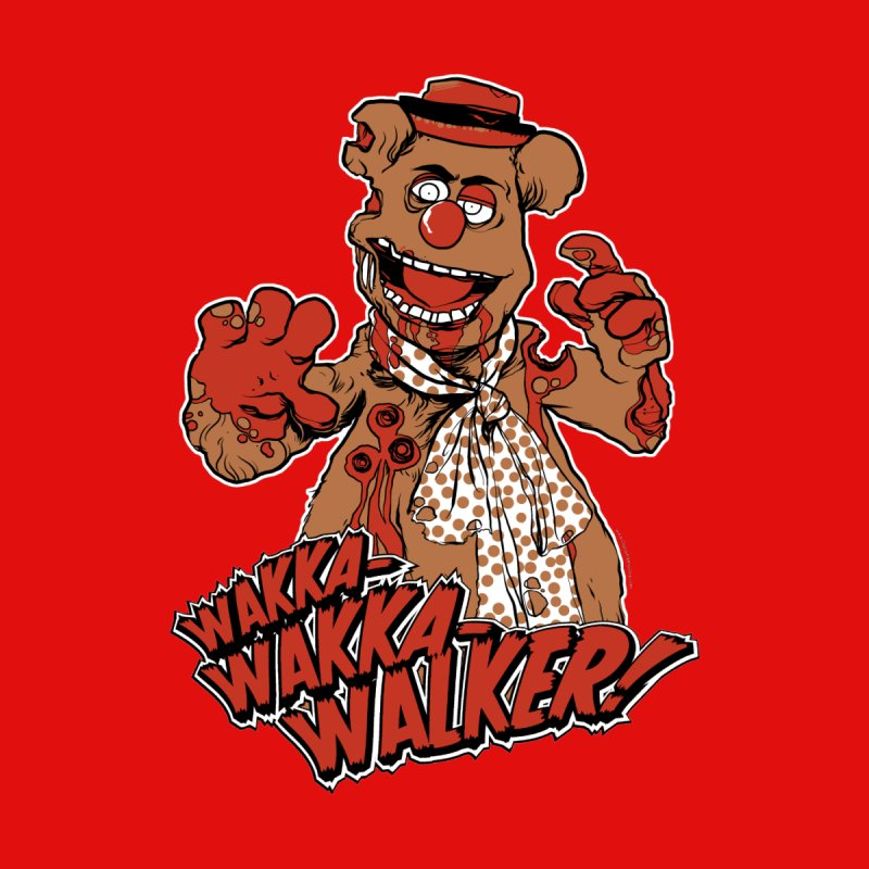 """Wakka, Wakka, WALKER!"" Zombie Fozzie Men's T-Shirt by Digital PIMP Threadless shop"