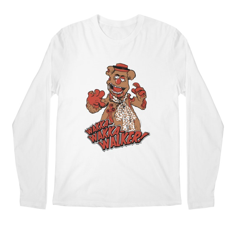 """Wakka, Wakka, WALKER!"" Zombie Fozzie Men's Regular Longsleeve T-Shirt by Digital PIMP Threadless shop"