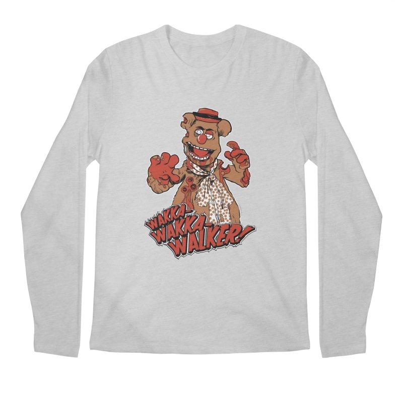 """Wakka, Wakka, WALKER!"" Zombie Fozzie Men's Regular Longsleeve T-Shirt by Digital PIMP Threadless shop"