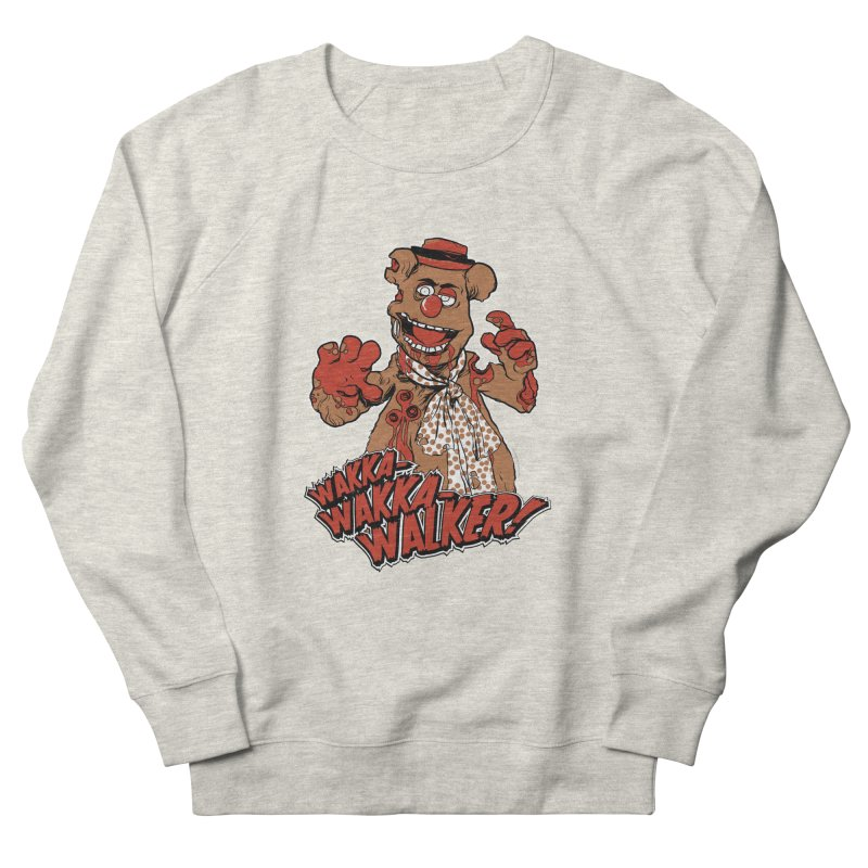 """Wakka, Wakka, WALKER!"" Zombie Fozzie Women's French Terry Sweatshirt by Digital PIMP Threadless shop"