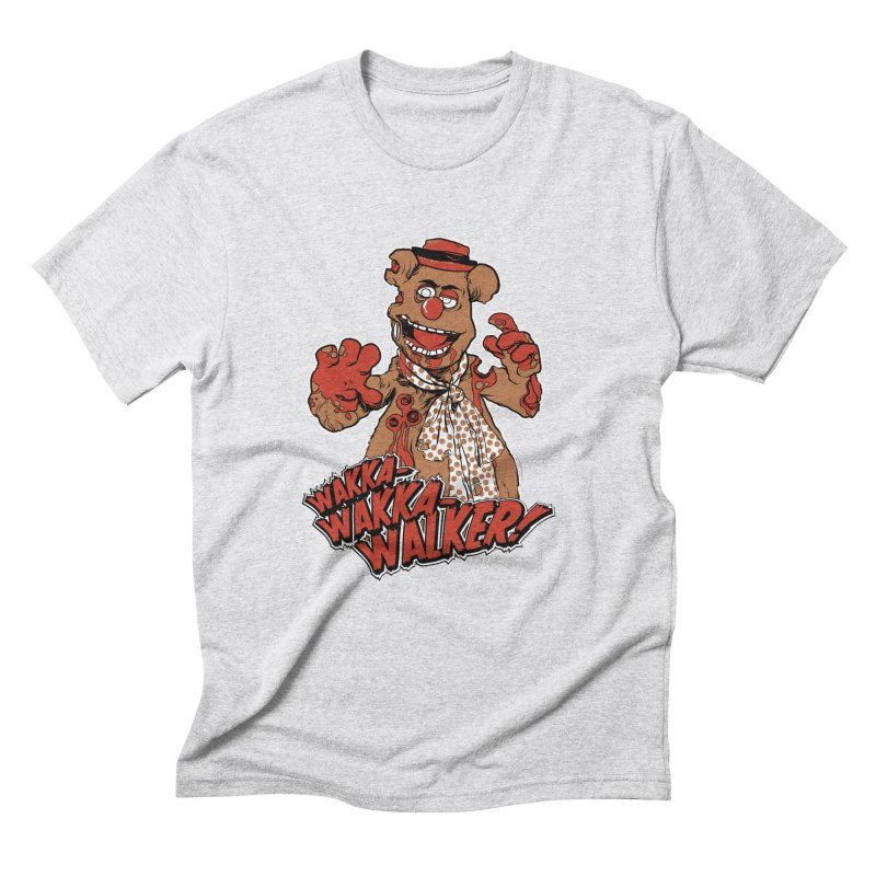 """Wakka, Wakka, WALKER!"" Zombie Fozzie Men's Triblend T-Shirt by Digital PIMP Threadless shop"