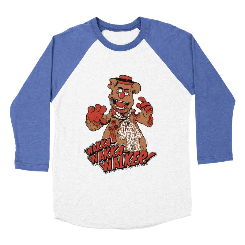 """Wakka, Wakka, WALKER!"" Zombie Fozzie Women's Baseball Triblend Longsleeve T-Shirt by Digital PIMP Threadless shop"