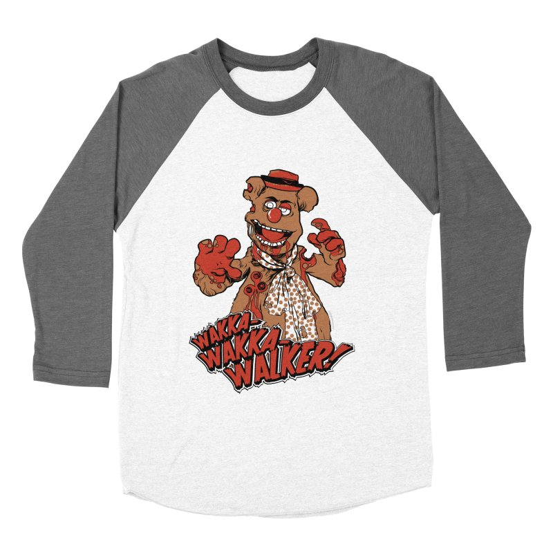 """Wakka, Wakka, WALKER!"" Zombie Fozzie Women's Baseball Triblend Longsleeve T-Shirt by Digital PIMP Threadless shop"