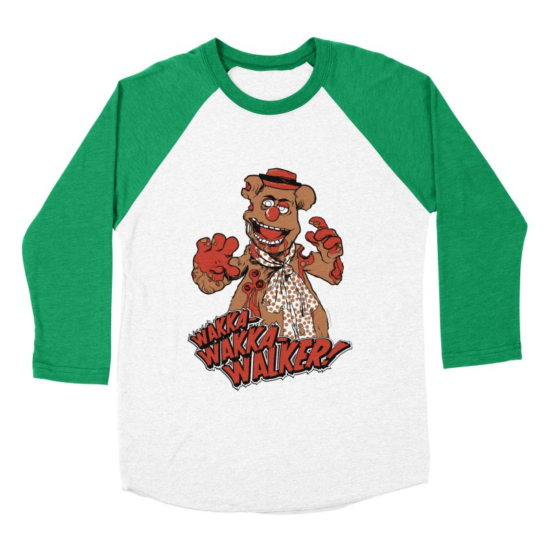 """Wakka, Wakka, WALKER!"" Zombie Fozzie Men's Baseball Triblend Longsleeve T-Shirt by Digital PIMP Threadless shop"