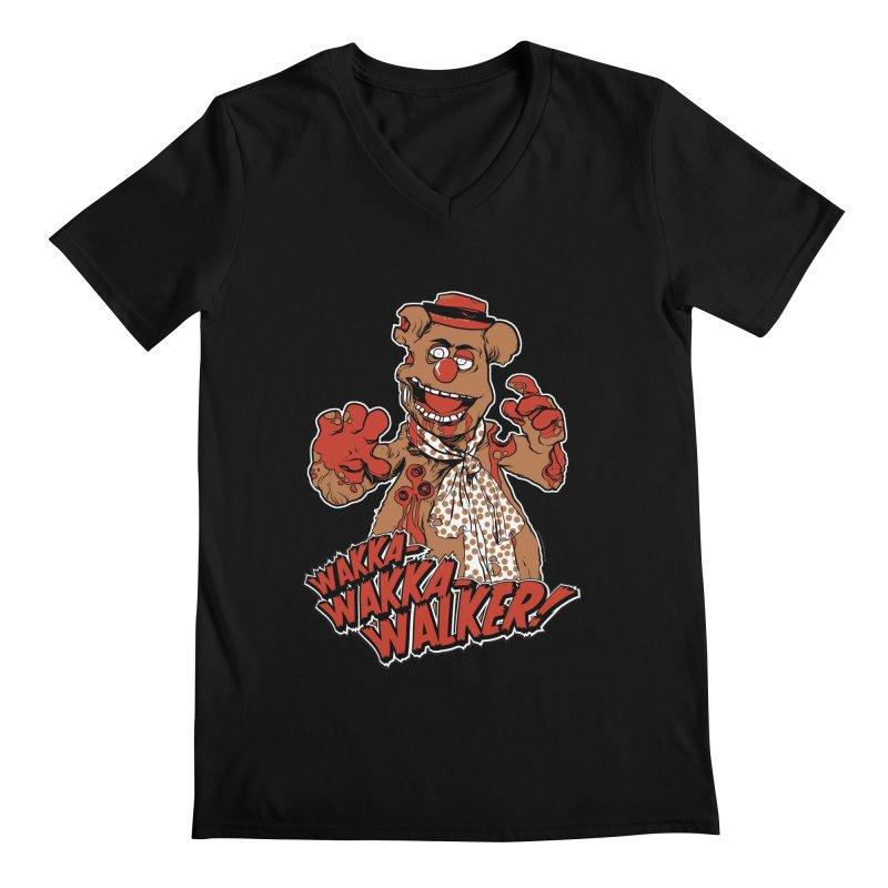 """Wakka, Wakka, WALKER!"" Zombie Fozzie Men's Regular V-Neck by Digital PIMP Threadless shop"
