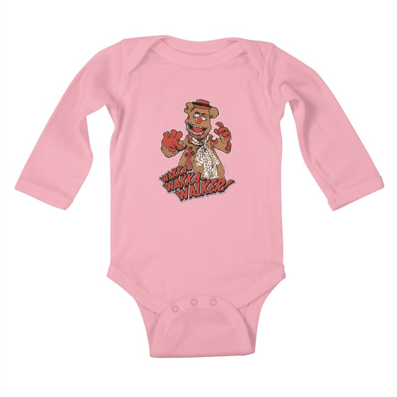 """Wakka, Wakka, WALKER!"" Zombie Fozzie Kids Baby Longsleeve Bodysuit by Digital PIMP Threadless shop"