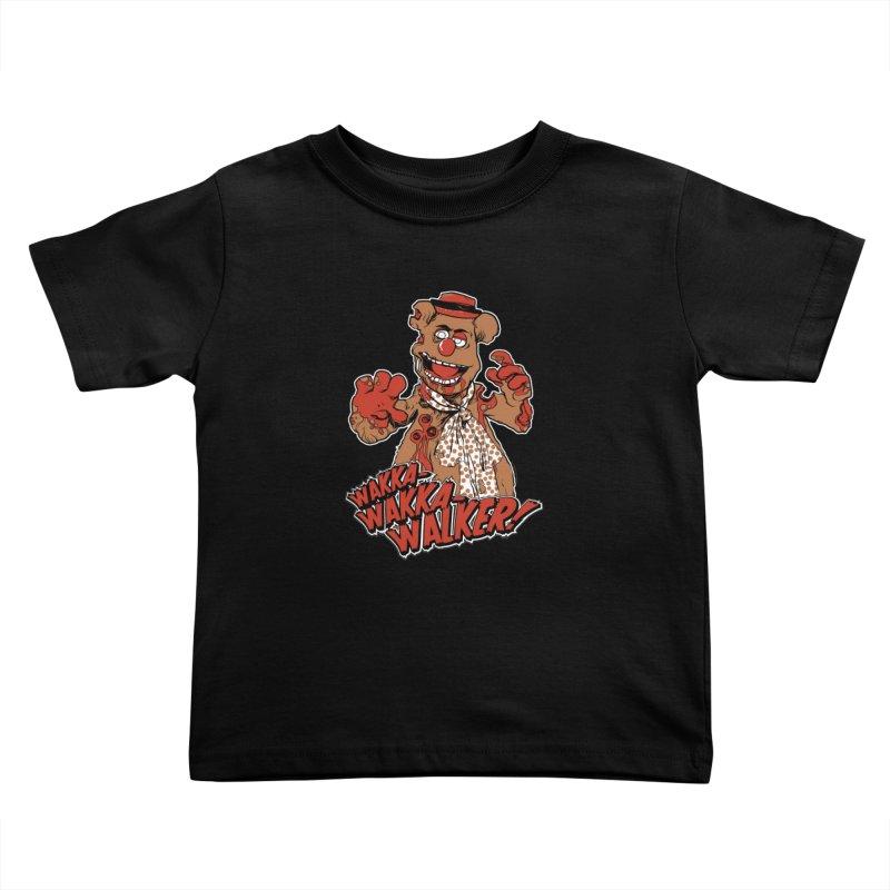 """""""Wakka, Wakka, WALKER!"""" Zombie Fozzie Kids Toddler T-Shirt by Digital PIMP Threadless shop"""