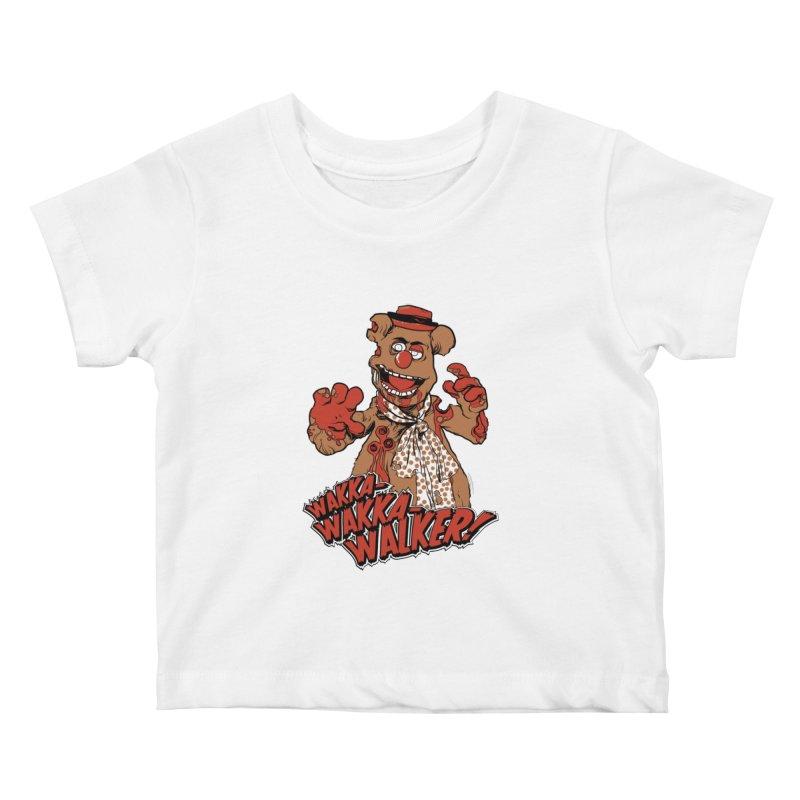 """""""Wakka, Wakka, WALKER!"""" Zombie Fozzie Kids Baby T-Shirt by Digital PIMP Threadless shop"""