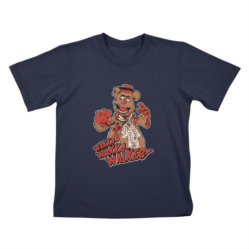 """Wakka, Wakka, WALKER!"" Zombie Fozzie Kids  by Digital PIMP Threadless shop"