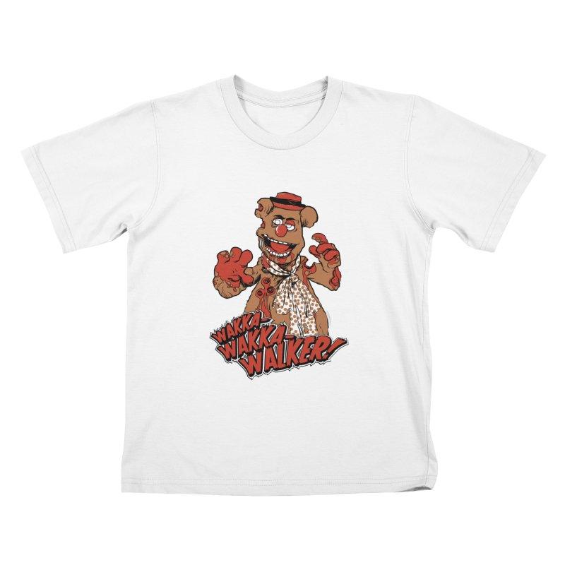 """""""Wakka, Wakka, WALKER!"""" Zombie Fozzie Kids T-Shirt by Digital PIMP Threadless shop"""