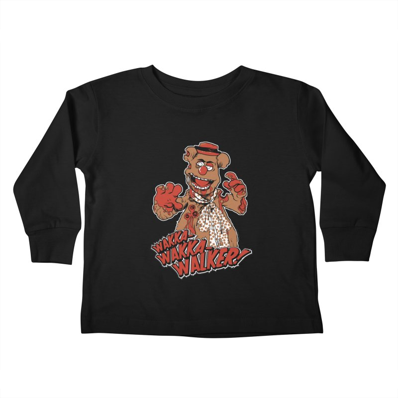 """Wakka, Wakka, WALKER!"" Zombie Fozzie Kids Toddler Longsleeve T-Shirt by Digital PIMP Threadless shop"