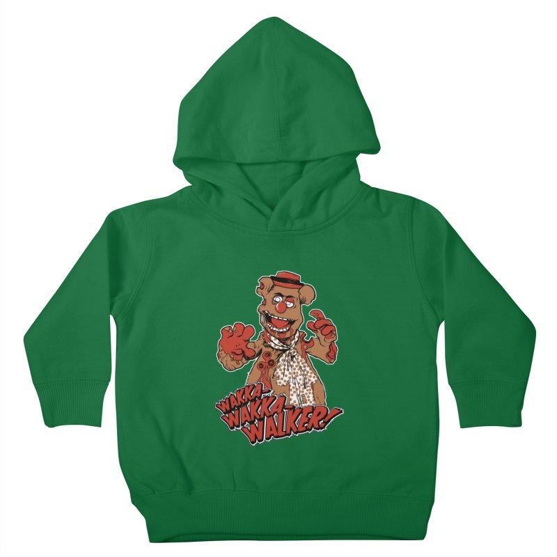 """Wakka, Wakka, WALKER!"" Zombie Fozzie Kids Toddler Pullover Hoody by Digital PIMP Threadless shop"