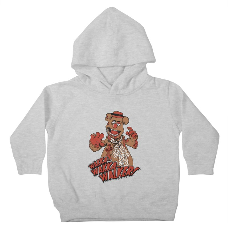 """Wakka, Wakka, WALKER!"" Zombie Fozzie Kids Toddler Pullover Hoody by Digital PIMP Threadless shop"